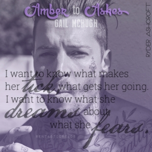 Amber to Ashes Teaser #3 - #RentasticReads #BabblingChatterReads