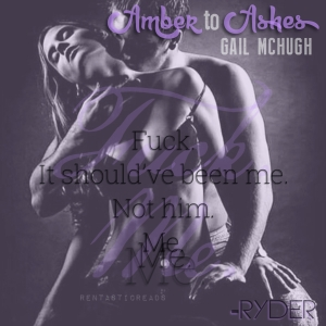 Amber to Ashes Teaser #7 - #RentasticReads #BabblingChatterReads