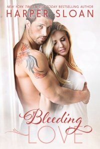 Bleeding Love Front Cover