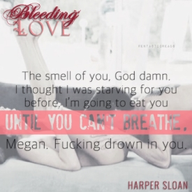 Bleeding Love Teaser #1 - #RentasticReads #BabblingChatterReads