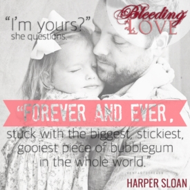 Bleeding Love Teaser #2 - #RentasticReads #BabblingChatterReads