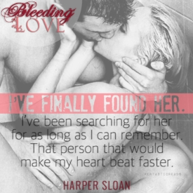 Bleeding Love Teaser #5 - #RentasticReads #BabblingChatterReads
