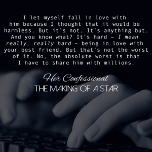 Her Confessional: Making of a Star Teaser 1