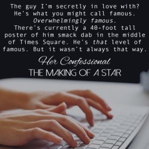 Her Confessional: Making of a Star Teaser 2