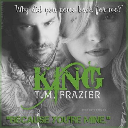 King Teaser #1 - #RentasticReads #BabblingChatterReads