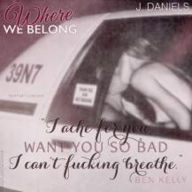 Where We Belong Teaser #1 - #RentasticReads #BabblingChatterReads