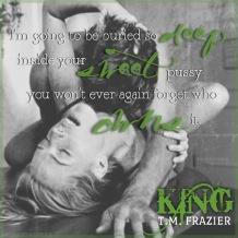 King Teaser #6 - #RentasticReads #BabblingChatterReads