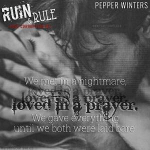 Ruin & Rule Teaser #7 - #RentasticReads #BabblingChatterReads