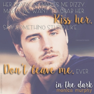 In the Dark Teaser #7 - #RentasticReads #BabblingChatterReads