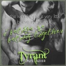 Tyrant Teaser #2 - #RentasticReads #BabblingChatterReads