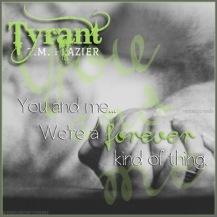 Tyrant Teaser #3 - #RentasticReads #BabblingChatterReads