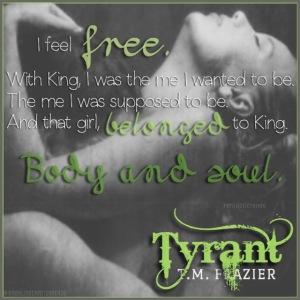 Tyrant Teaser #4 - #RentasticReads #BabblingChatterReads