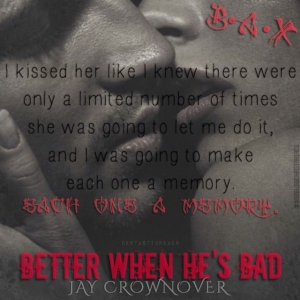 Better When He's Bad Teaser #4 - #BabblingChatterReads #RentasticReads