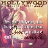 Hollywood Dirt Teaser #1 - #RentasticReads #BabblingChatterReads