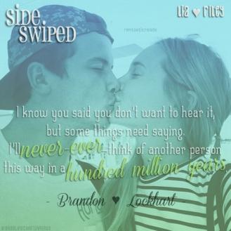Sideswiped Teaser #1 - #RentasticReads #BabblingChatterReads