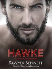 Hawke (Cold Fury Hockey #5) by Sawyer Bennett