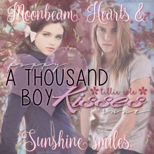 A Thousand Boy Kisses Teaser 3 #RentasticReads #BabblingChatterReads