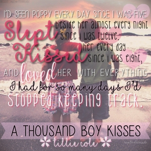 A Thousand Boy Kisses Teaser 4 #RentasticReads #BabblingChatterReads